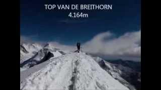 Succesvolle beklimming Breithorn (4164m)