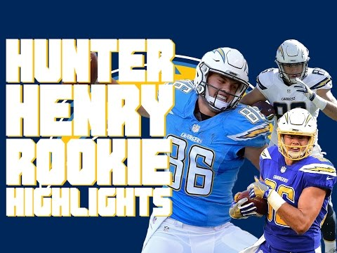 Hunter Henry Rookie Highlights