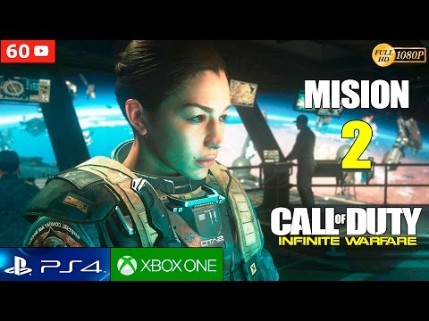 Call of Duty Infinite Warfare Campaña Mision 2 Español Gameplay PS4 1080p 60fps | Walktrough Parte 2