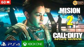 Call of Duty Infinite Warfare Campaña Mision 2 Español Gameplay PS4 1080p 60fps | Walktrough Parte 2