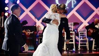 Tim McGraw Surprises Bride - My Little Girl