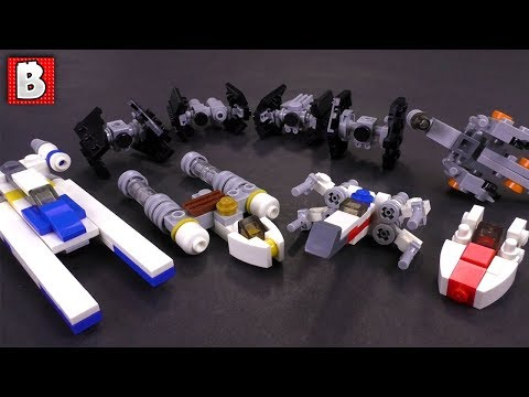 Lego star wars micro tie fighter instructions