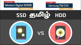 SSD vs HDD | Samsung 750 EVO 120GB SSD Drive unboxing | YES TAMIL