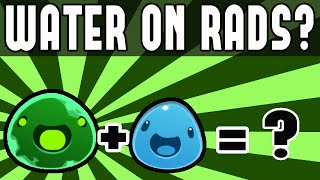 Adding Water to Rad Slimes! Slime Rancher with Rad Slimes  - World Editor Mod (Slime Rancher Mod)