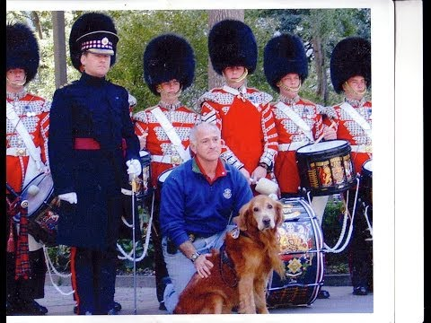 Scots Guards Honor NYC Parks K-9 Bear & Capt. Scott Shields