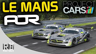 Project Cars Online League Race PC Gameplay: Le Mans 24 Hours GT3 - AOR Social