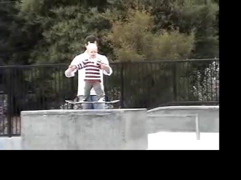 Sammy Skateboarding