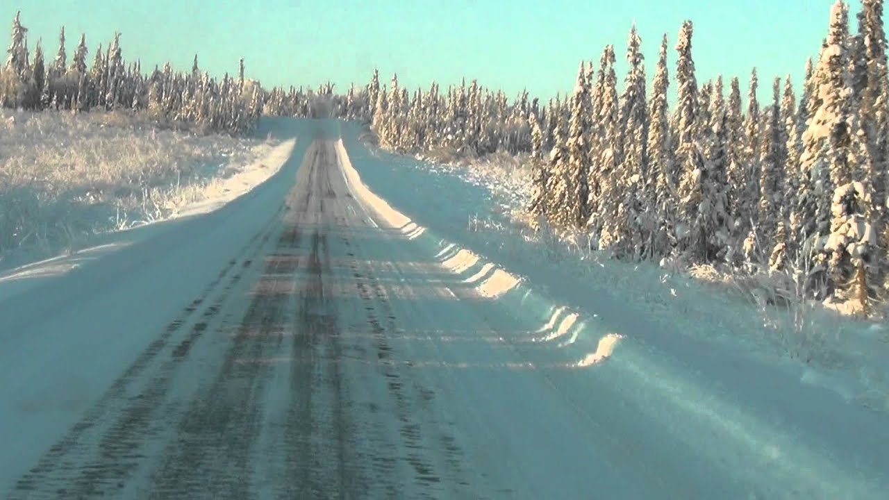 Dalton Highway, the loneliest road on the planet
