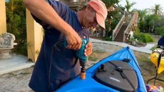 How To Install A Kayak Fishing Rod Holder