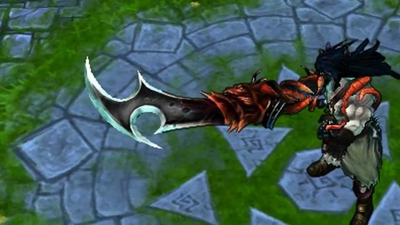 League Of Legends - Legendary Demonblade Tryndamere Skin