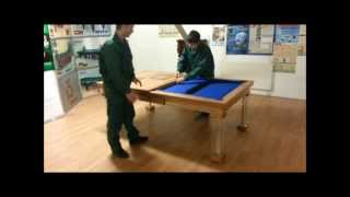Billiard Dining Top And Pronto Storage Instruction 2014 01