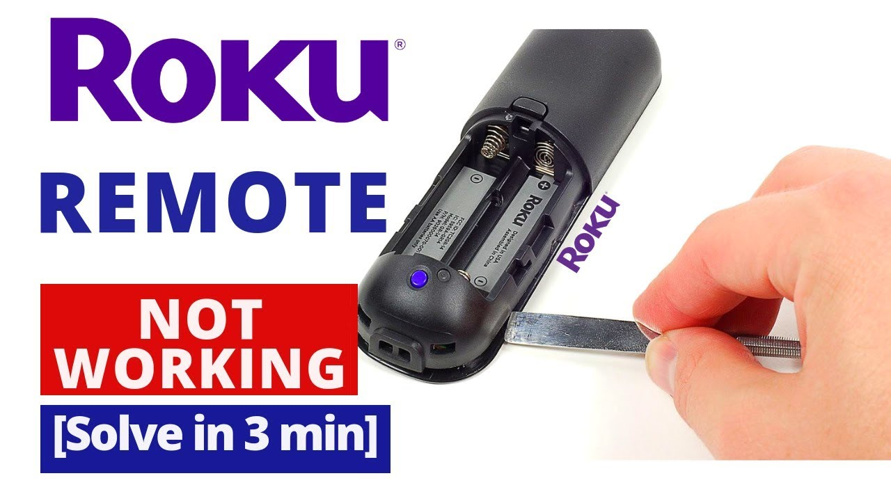How to Fix Roku Remote Not Working  Roku TV Remote Common Problems & Fixes