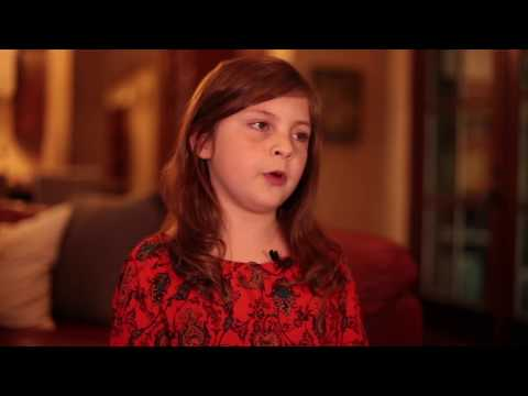 11 Year Old Ava talks about Camp Sweeney for Type 1 Diabetics