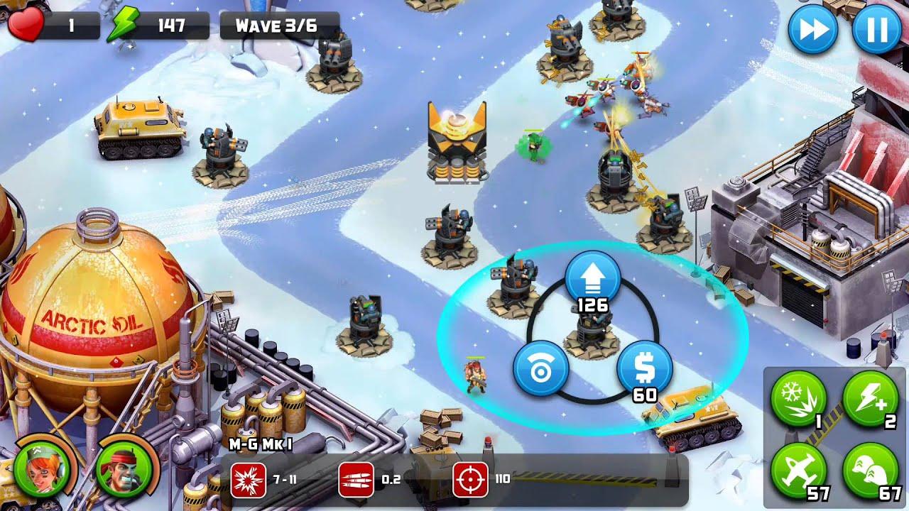 Alien Creeps TD Walkthrough Level 22 Zulu Station for 4 stars Veteran  gameplay