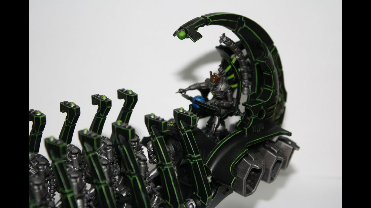 Warhammer 40K Painting Tutorial - How to Paint a Necron ...