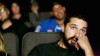 Shia LaBeouf Wants You To Watch Him Watch His Movies
