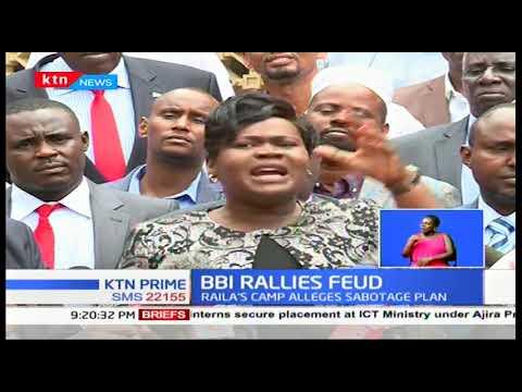 BBI Rallies Feud: Raila\'s camp alleges sabotage plan from Ruto\'s allied team