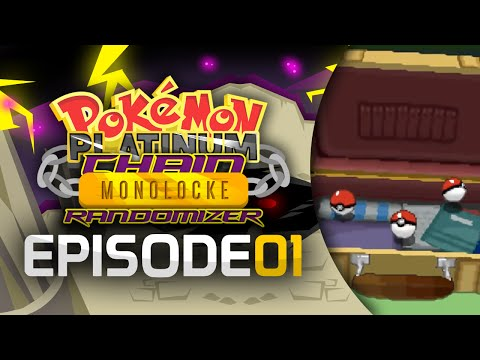 Pokémon Platinum Chain Monolocke Randomizer - Episode 01 - Choose My Starter!