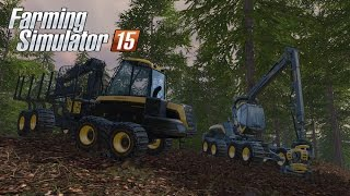 Farming Simulator 15 - Gameplay #1: Forestry & Logging