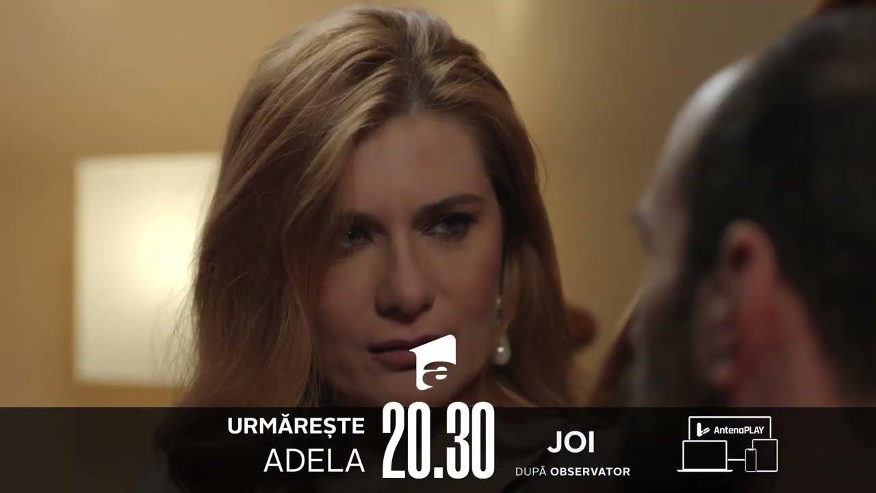 """Adio, dragostea mea!"" Nu rata un nou episod Adela, JOI, de la 20:30, pe Antena 1! 😍"