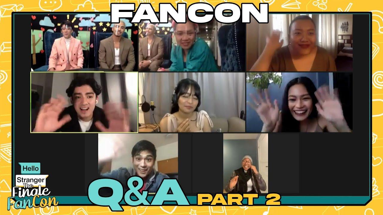 The Finale Fancon Q&A Part 2 | Hello Stranger