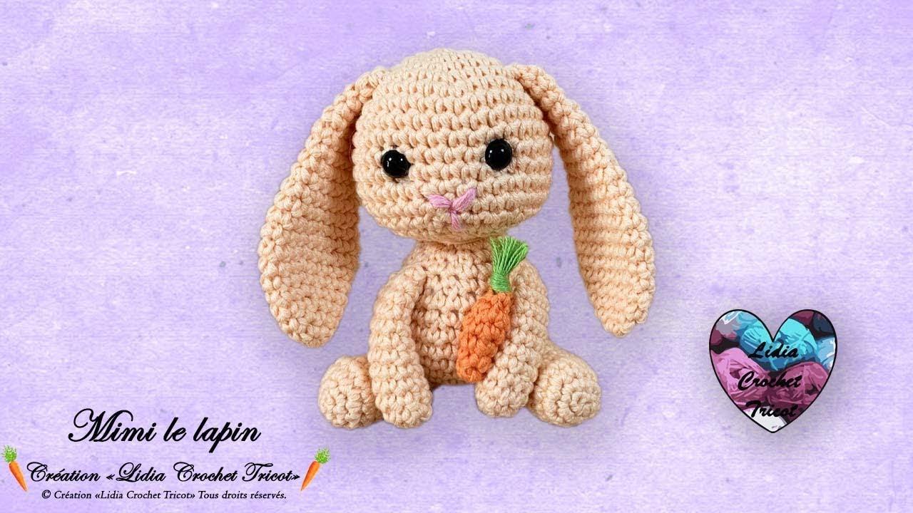 AMIGURUMI (crochet) : petit lapin blanc - YouTube | 720x1280