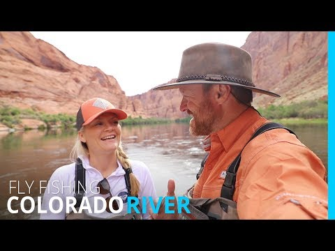FLY FISHING THE COLORADO RIVER   LEES FERRY (EP 101)