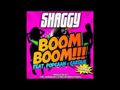Shaggy ft Popcaan & Cardi B - Boom Boom ( Remix )   November 2015