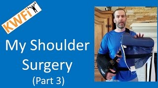 My Shoulder Surgery Part 3: Tips and First Physical Thearpy Session (DonJoy Ultra Sling Review)