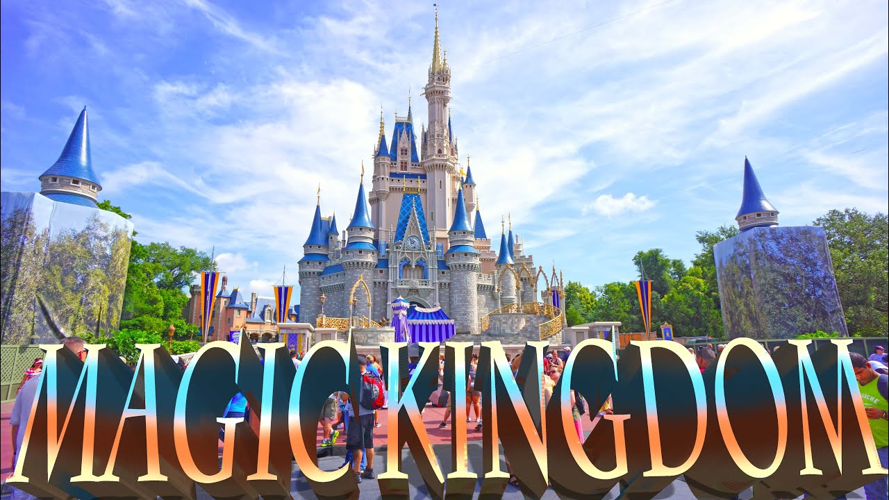 magic kingdom walt disney world orlando 4k youtube