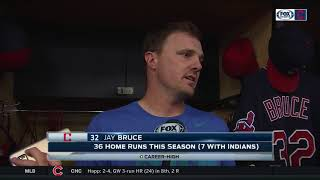 Jay Bruce: Cleveland Indians not thinking about home field advantage too much, it's 'second nature' 2017 Video