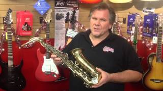 Used alto sax for parts at Jonathan Fletcher Music Store