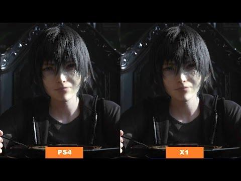 Final Fantasy 15 - PS4 vs Xbox One Graphics Comparison