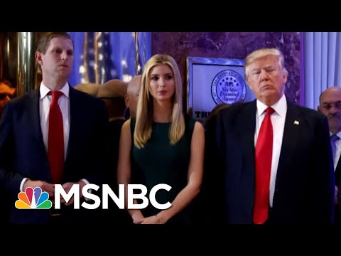 Donald Trump Family Author: Donald Trump Jr. 'Front And Center' In Probes   The Beat With Ari Melber