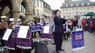 YOUNG AMBASSADORS BRASS BAND OF GREAT-BRITAIN à ECHTERNACH (G.D. de LUXEMBOURG)