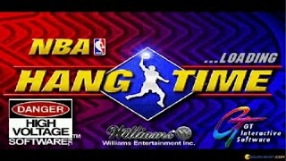 NBA Hangtime gameplay (PC Game, 1996)