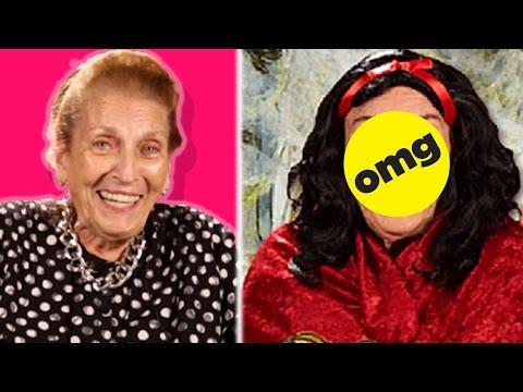 Grandmas Get Disney Princess Makeovers
