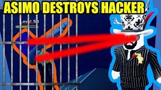 Jailbreak Hacker gets DESTROYED by asimo3089! | Roblox Jailbreak