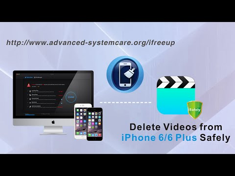 How to Delete Videos from iPhone 6S Plus/6 Plus Safely to Prevent Privacy Leak by iFreeUp