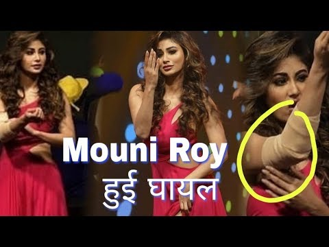 Mouni Roy injured during promotion of RAW movie | John Abraham Mouni Roy  new movie