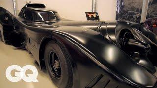 The Batmobile and Comedian Jeff Dunham