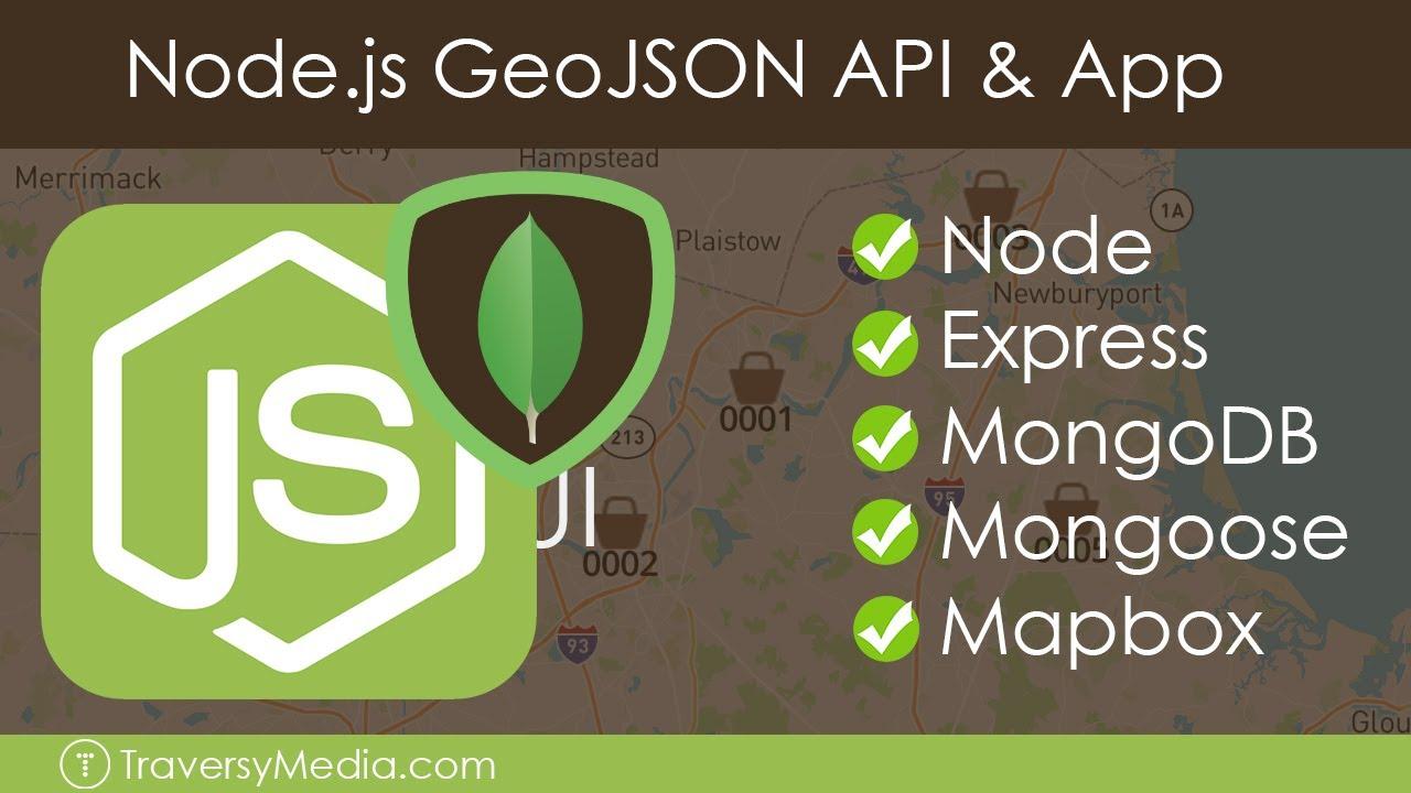 Node.js GeoJSON API & App | Store Locator
