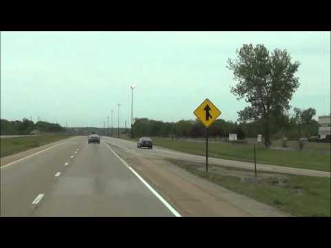 Illinois - Interstate 39 North - Mile Marker 50-60 (5/2/12)