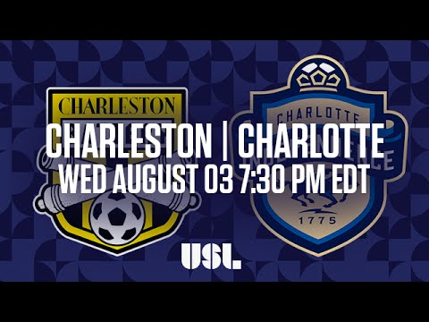 WATCH LIVE: Charleston Battery vs Charlotte Independence 8-3-16