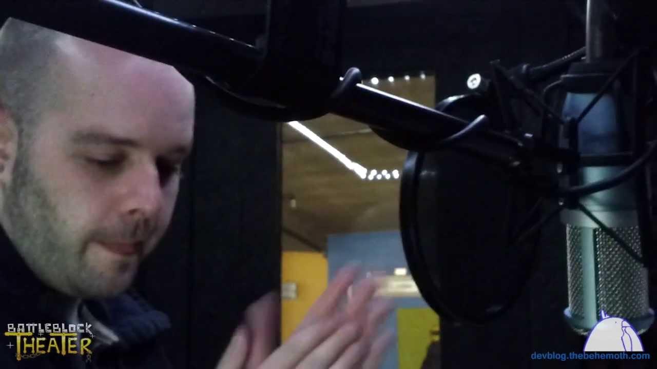 BattleBlock Theater Development: Narration by Will Stamper