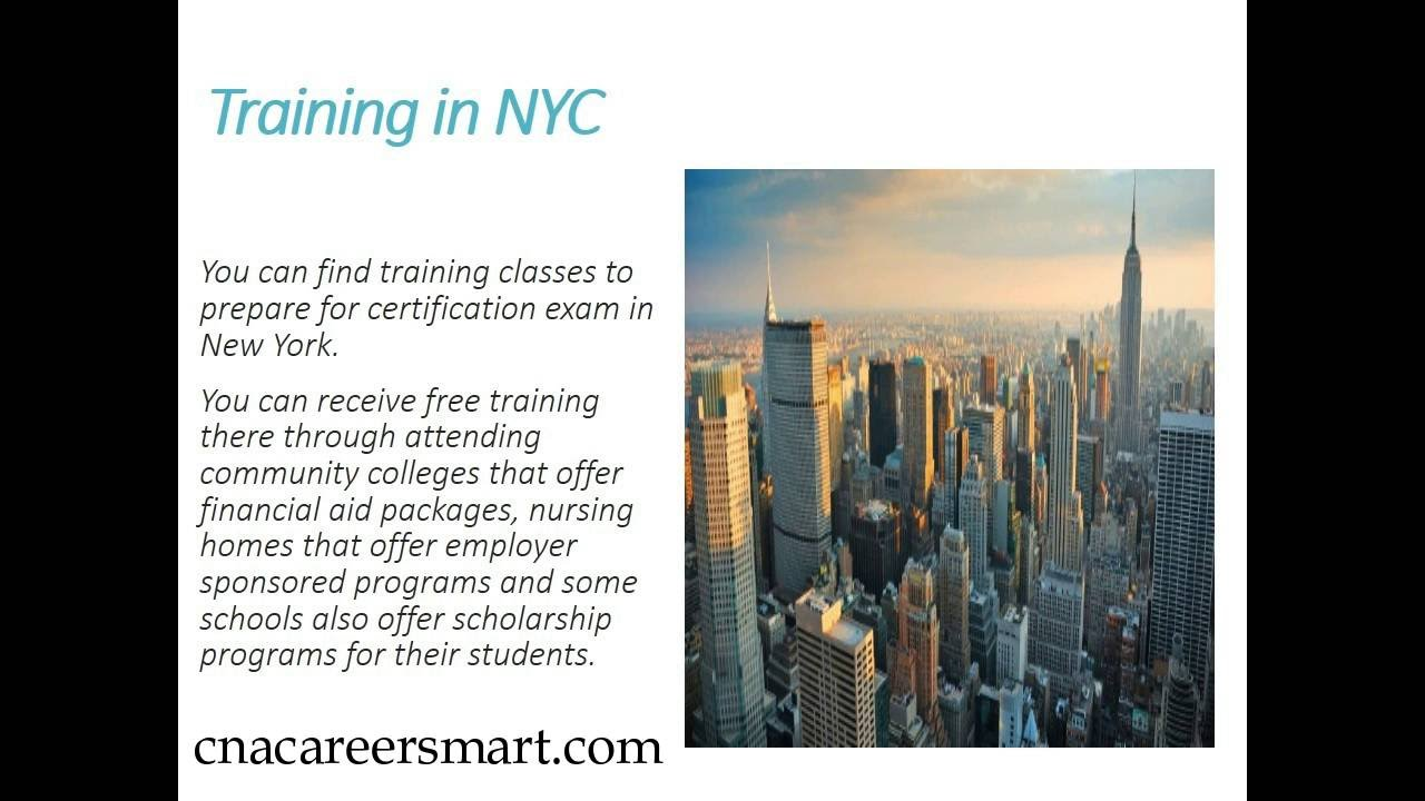 3 ways to get free cna classes in nyc youtube 3 ways to get free cna classes in nyc xflitez Choice Image