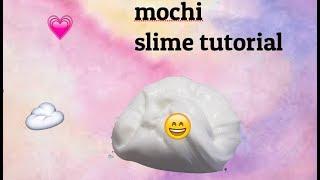 Mochi slime教學💗唔洗好多材料😆有發雞癲成分✖️ thumbnail