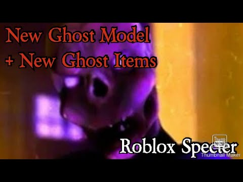 New Ghost Model + New Items   Roblox Specter (2.13.0 Update)