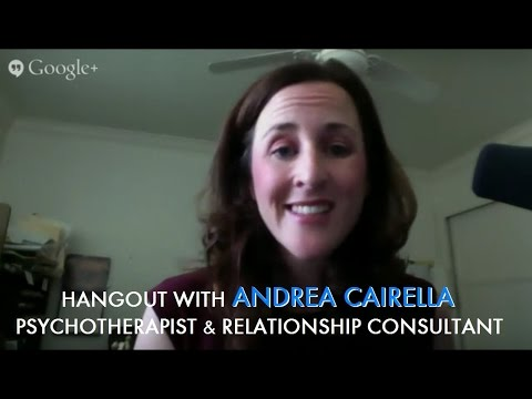 Hangout with Andrea Cairella - Psychotherapist and Relationship Consultant