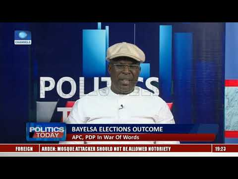 APC, PDP In War Of Words Over Bayelsa Elections Outcome |Politics Today|